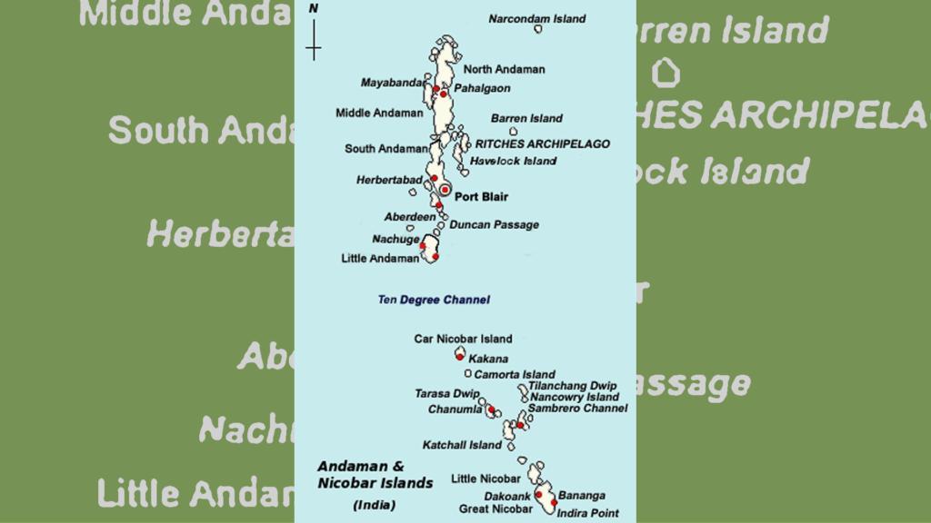Andaman and Nicobar Islands, tourism in adaman and nicobar,  tribes of andaman and nicobar