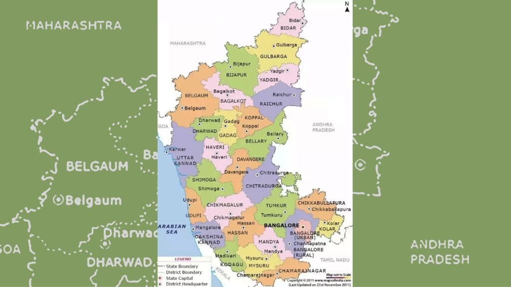 Karnataka, karnataka neighbours,   cauvery water dispute, capital of karnataka, religious groups in karnataka,  it hub of india
