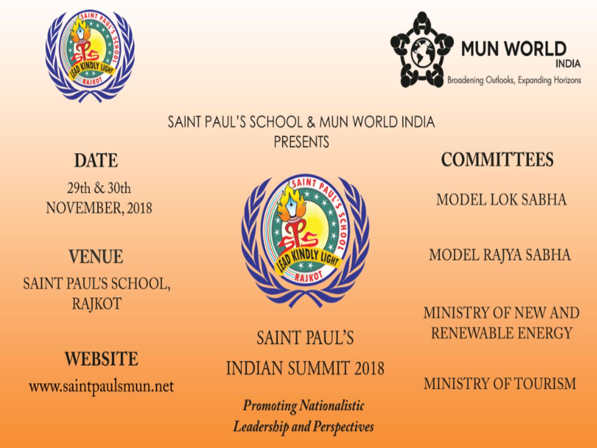 Saint Paul's Indian Summit 2018