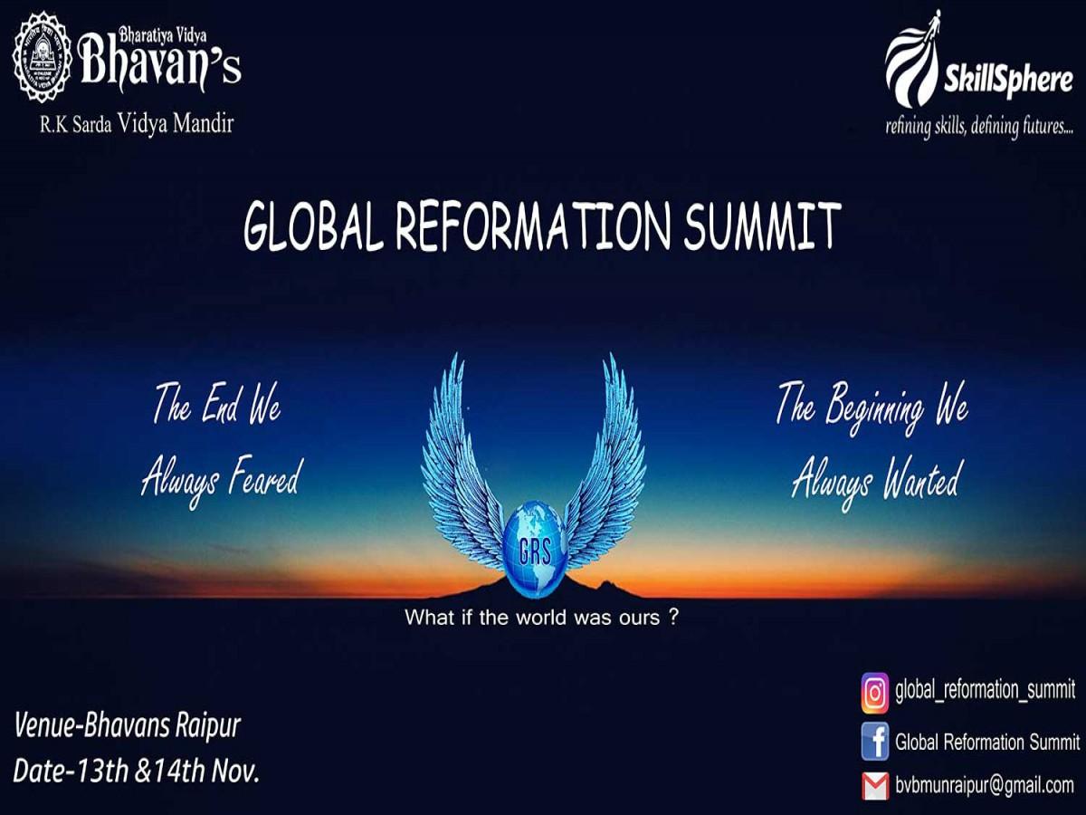 Raipur Global Reformation Summit 2018
